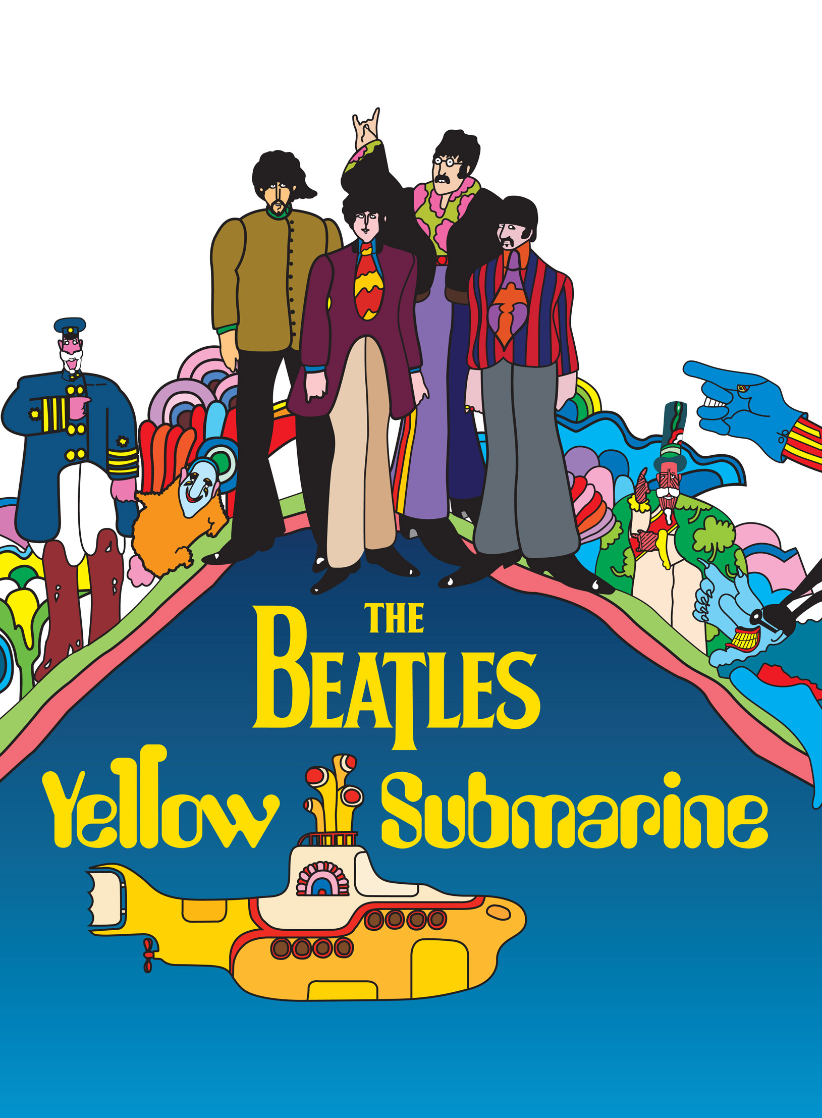 YELLOW SUBMARINE FEATURE FILM RESTORED FOR JUNE RELEASE  #0086BE 1629 2215